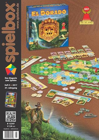 Spielbox 05/2017 englische Ausgabe