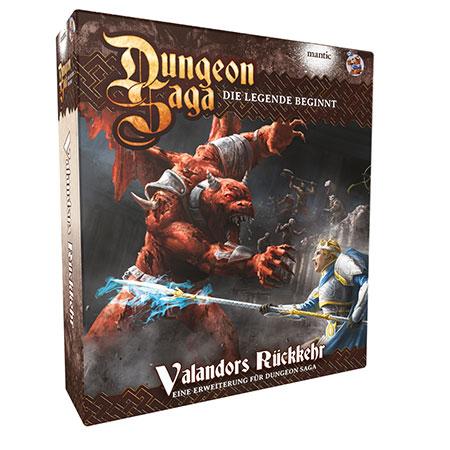 Dungeon Saga - Valandors Rückkehr Erweiterung