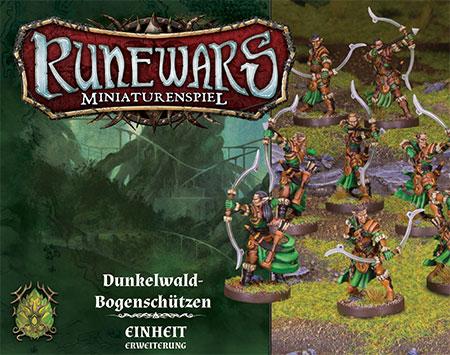 Runewars - Miniaturenspiel - Dunkelwald-Bogenschützen Einheit-Erweiterung