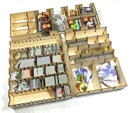 GeekMod - Sortierbox aus Holz für Small World