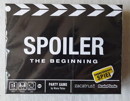 Spoiler - The Beginning