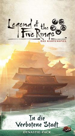Legend of the 5 Rings - Das Kartenspiel - In die Verbotene Stadt Dynastie-Pack (Kaiserreich 3)