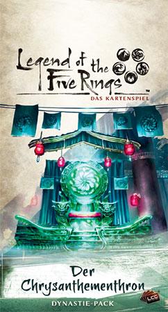 Legend of the 5 Rings - Das Kartenspiel - Der Chrysanthementhron Dynastie-Pack (Kaiserreich 4)