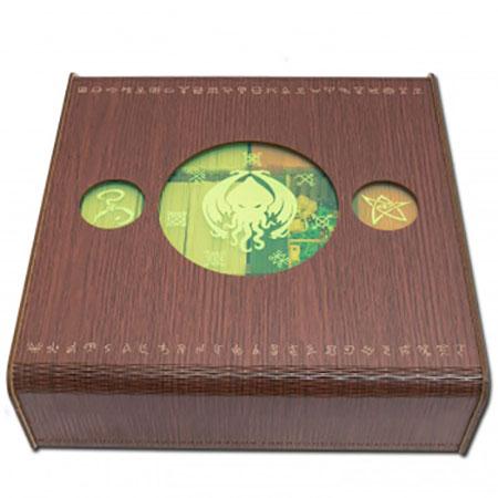 Blackfire - Card Crate - Cthulhu Aufbewahrungsbox aus Holz