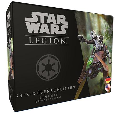 Star Wars: Legion - 74-Z-Düsenschlitten Einheit-Erweiterung