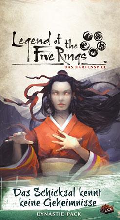Legend of the 5 Rings - Das Kartenspiel - Das Schicksal kennt keine Geheimnisse Dynastie-Pack (Kaiserreich 5)