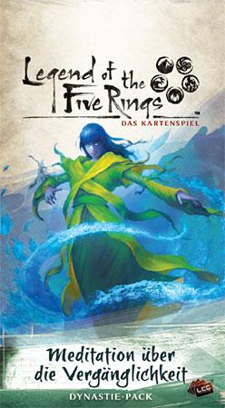 Legend of the 5 Rings - Das Kartenspiel - Meditation über die Vergänglichkeit Dynastie-Pack (Kaiserreich 6)