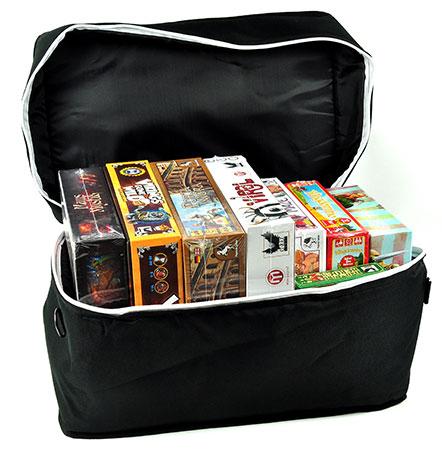 Große Brettspieltasche - schwarz