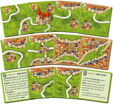 Carcassonne - Das Fest II (neue Edition)