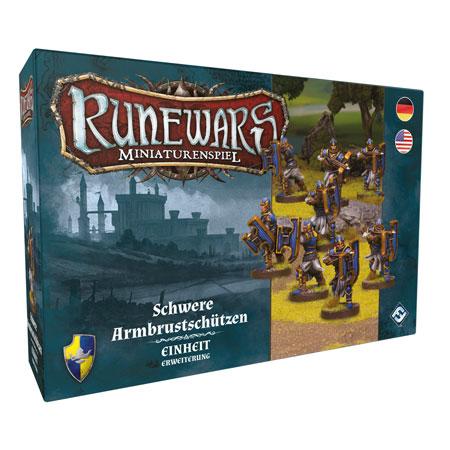Runewars - Miniaturenspiel - Schwere Armbrustschützen Einheit-Erweiterung