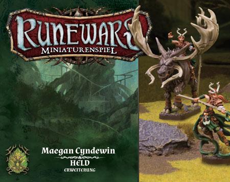 Runewars - Miniaturenspiel - Maegan Cyndewin Held-Erweiterung