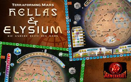 Terraforming Mars - Hellas + Elysium Erweiterung (dt.)