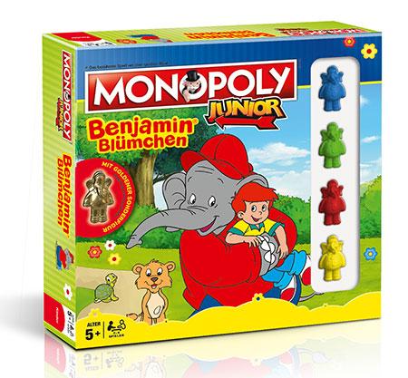 Monopoly - Junior Benjamin Blümchen