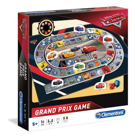 Grand Prix Spiel - Cars 3