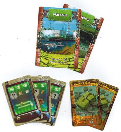 Raid and Trade (engl.) - Bonuskarten