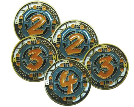 Raid and Trade - Metal Credit Discs