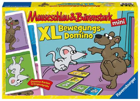 Mauseschlau & Bärenstark XL Bewegungs-Domino