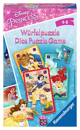 Disney Princess Würfelspiel