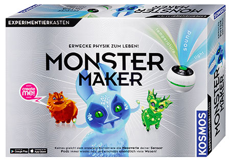 Monster Maker - Senso MonsterLab (ExpK)