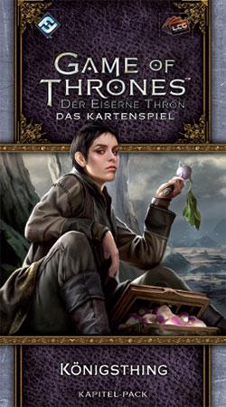 Der Eiserne Thron - Das Kartenspiel 2. Edition - Königsthing (Krähenschwarm 3)
