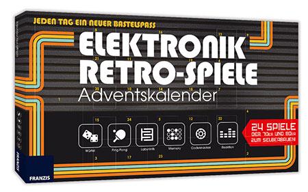 Franzis: Elektronik Retro-Spiele Adventskalender (ExpK)