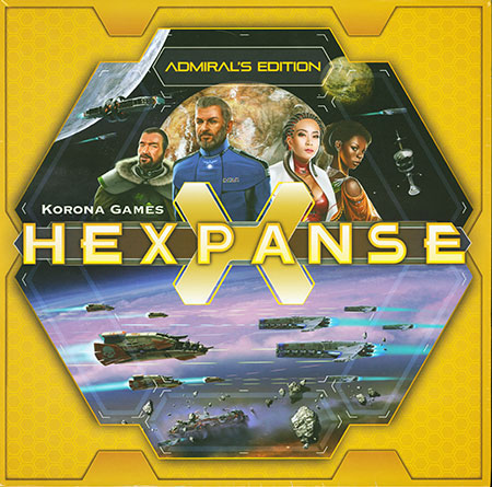 Hexpanse - Kickstarter Admirals Edition + Double addon (engl.) (Deluxe Edition)