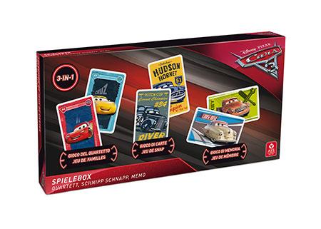 Disney Pixar Cars 3 - Spielebox (3 in 1)