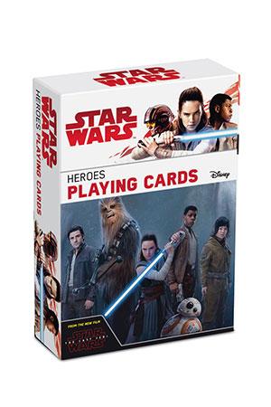 Star Wars - Spielkarten zum Film VIII - Hereos Deck