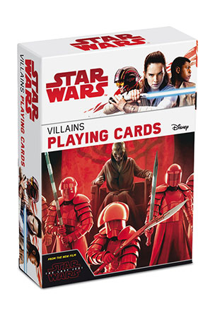 Star Wars - Spielkarten zum Film VIII - Villian Deck