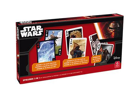 Star Wars - Spielebox (3 in 1)