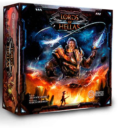 Lords of Hellas - Grundspiel