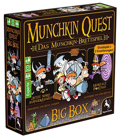 Munchkin Quest - Big Box