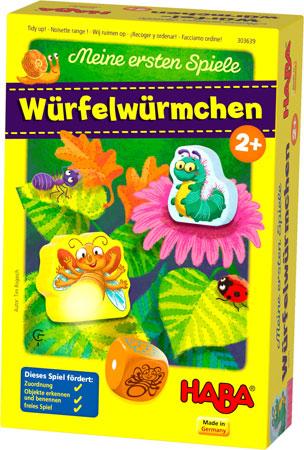 Meine ersten Spiele - Würfelwürmchen