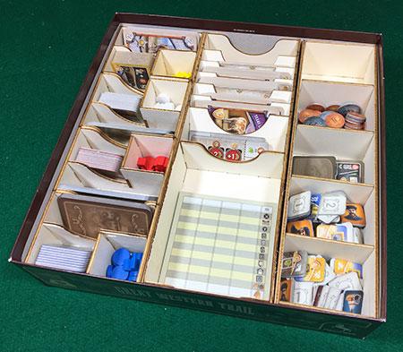 GeekMod - Sortierbox aus Holz für Great Western Trail
