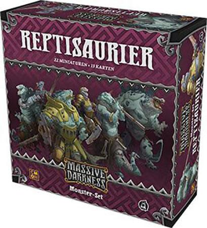 Massive Darkness - Reptisaurier Monster-Box