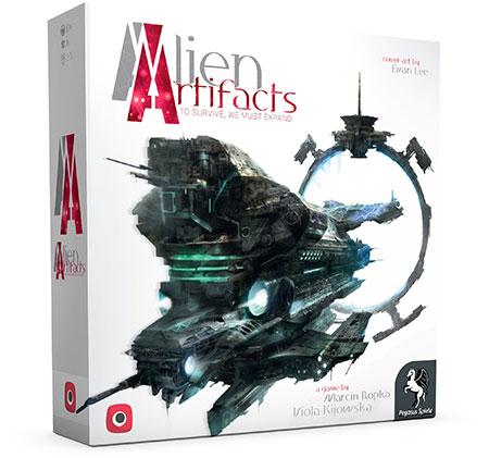 Alien Artifacts - Pegasusversion