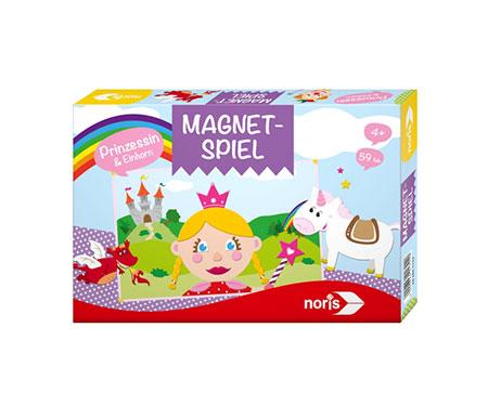 Magnetspiel - Prinzessin & Einhörner