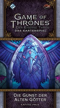 Der Eiserne Thron - Das Kartenspiel 2. Edition - Die Gunst der Alten Götter (Krähenschwarm 4)