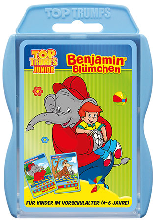 TOP TRUMPS - Junior - Benjamin Blümchen