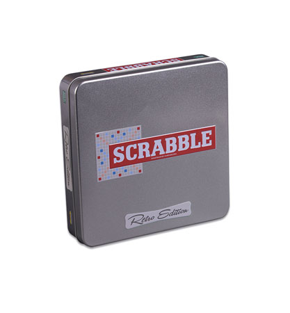 Scrabble - Retro Edition in Metallbox