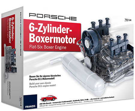 Franzis - Porsche 6-Zylinder Boxermotor (ExpK)