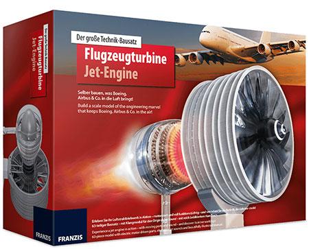 Franzis - Flugzeugturbine Jet-Engine (ExpK)