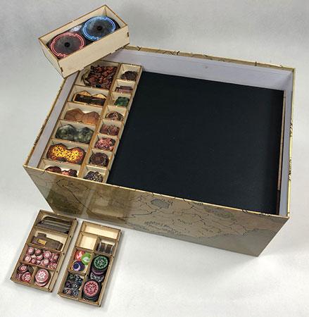 GeekMod - Sortierbox aus Holz für Gloomhaven 2. Edition