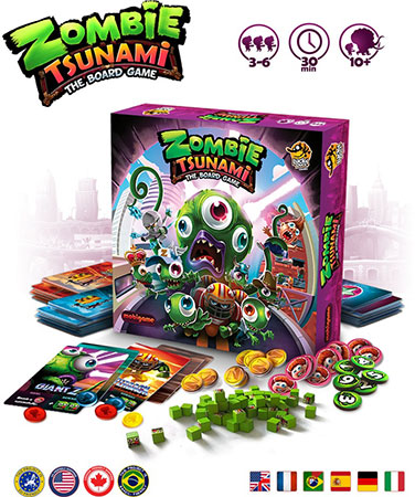 Zombie Tsunami - Retail - French