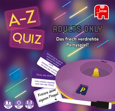A-Z Quiz - Adults Only