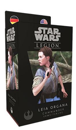 Star Wars: Legion - Leia Organa Commander-Erweiterung