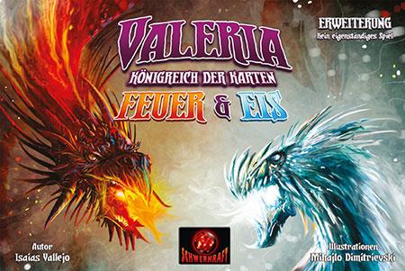 Valeria - Königreich der Karten - Feuer & Eis Erweiterung