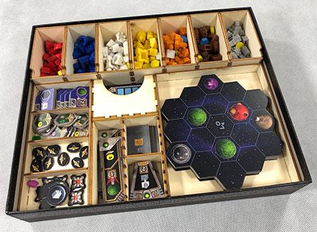 GeekMod - Sortierbox aus Holz für Gaia Project