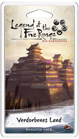 Legend of the 5 Rings - Das Kartenspiel - Verdorbenes Land Dynastie-Pack (Elementar 2)