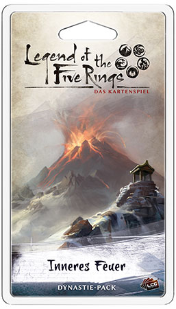 Legend of the 5 Rings - Das Kartenspiel - Inneres Feuer Dynastie-Pack (Elementar 3)